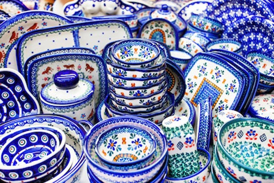 Produzione Ceramica In Italia.La Ceramica Di Boleslawiec